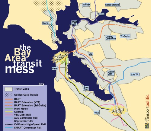 The Bay Area Transit Mess