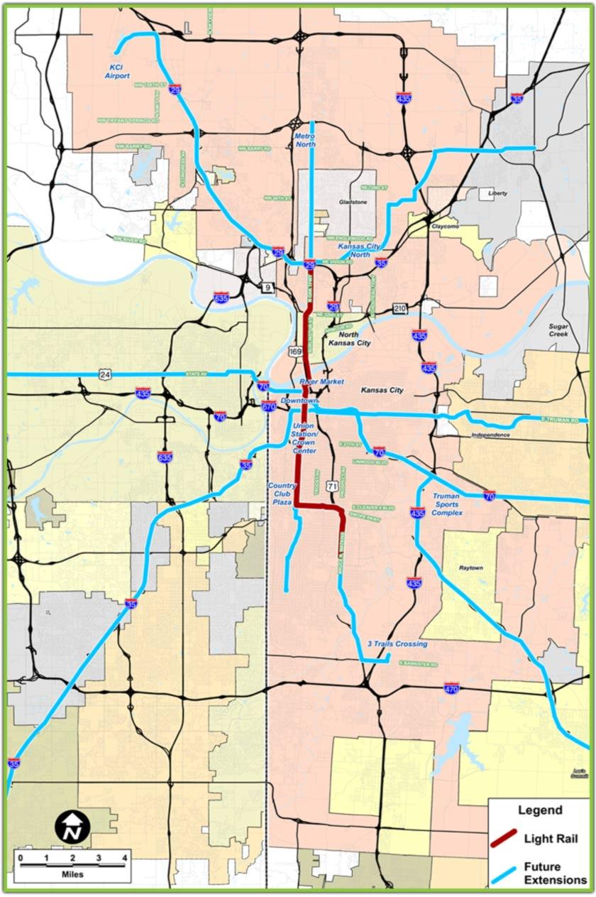 Kansas City Abandons Light Rail Australian Rapid Transit Projects
