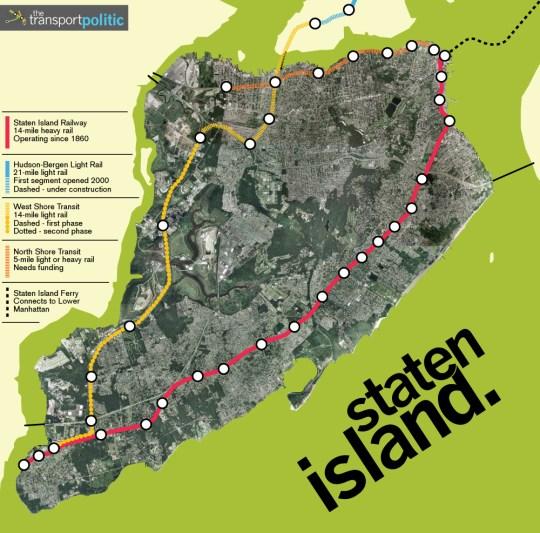Staten Island Transit Plans