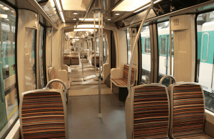 Paris Articulated Train
