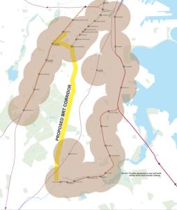 Boston Silver Line Extension Map