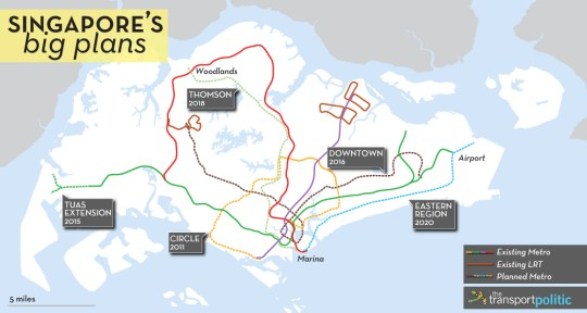 Singapore Transit Plans