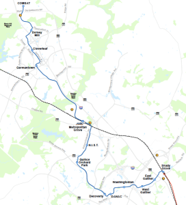 Corridor Cities Transit Map