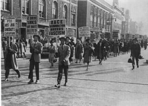 1944 Philadelphia Transit Counter-Strike (in favor of black employees)