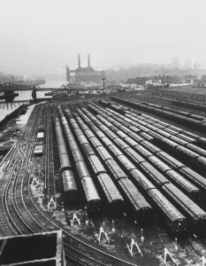 1966 New York Transit Strike - Trains Out of Use