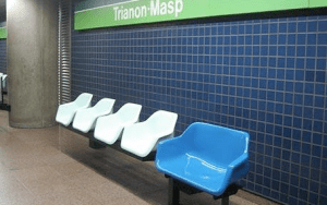 New Subway Station Seats in Sao Paolo