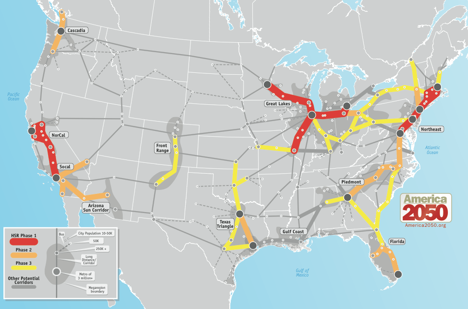 america 2050s report produces a long term phased rail system proposal
