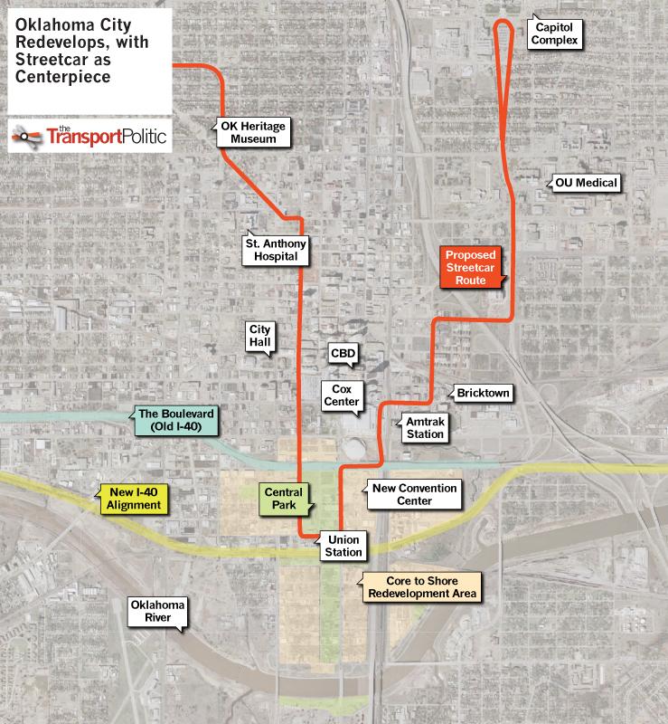 Oklahoma City Readies Modern Streetcar as Centerpiece of Major