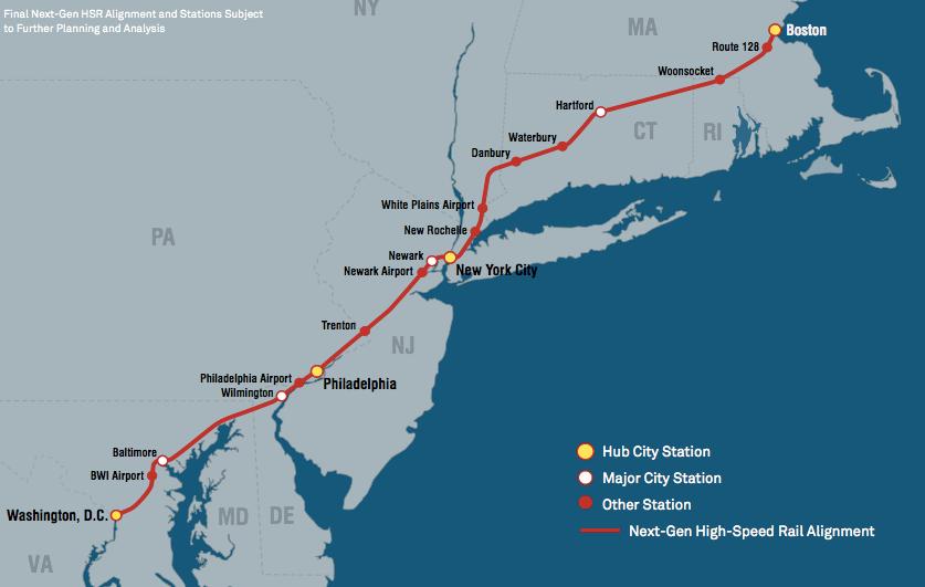 Amtrak Unveils Ambitious Northeast Corridor Plan, But It ...