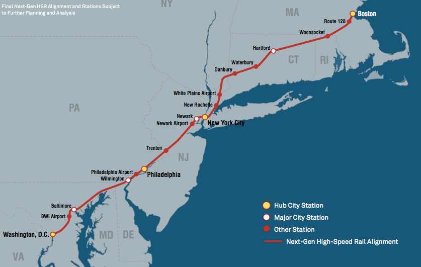 Amtrak Unveils Ambitious Northeast Corridor Plan, But It Would Take