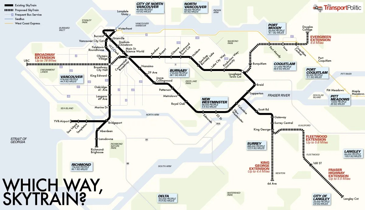 Vancouver S Transit Trajectory Densify The Core Or