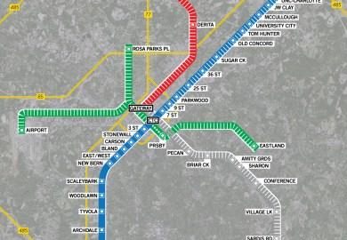 Charlotte Light Rail Plan