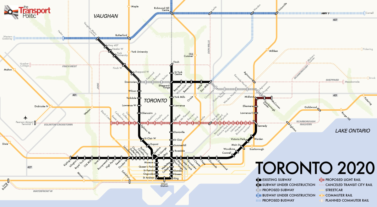 Agreement Reached Between Toronto And Ontario On Citys Transit