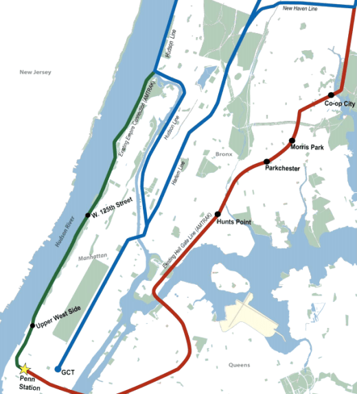 Metro North New Haven Line Map on