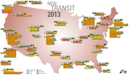 2013 Transit Openings