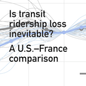 Is transit ridership loss inevitable?