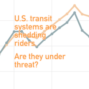 U.S. Transit Systems are Shedding Riders