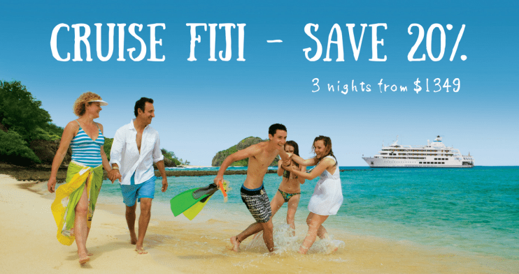 Cruise fiji islands save with earlybird deals