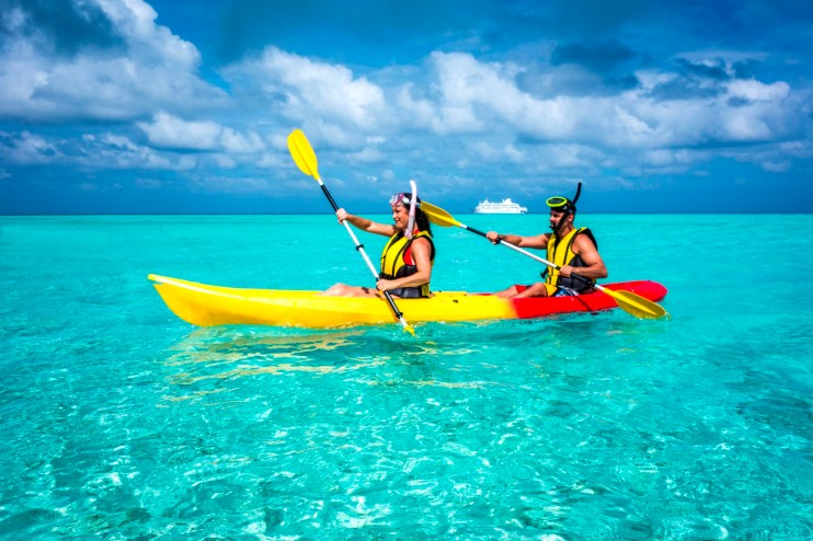 cruise fiji sale Kayak & ship