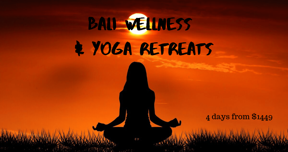 Bali yoga and Wellness retreats