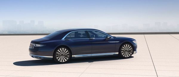 Luxury wellness on wheels. Lincoln Continental Concept Ca
