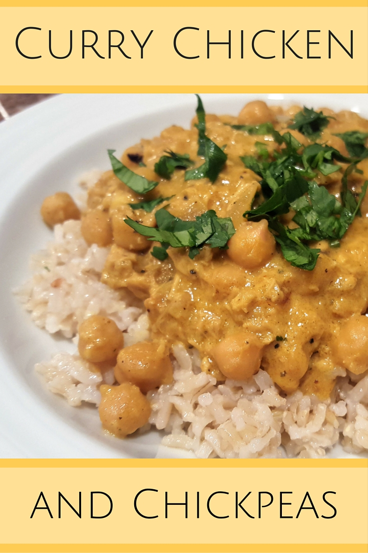 Curry Chicken & Chickpeas