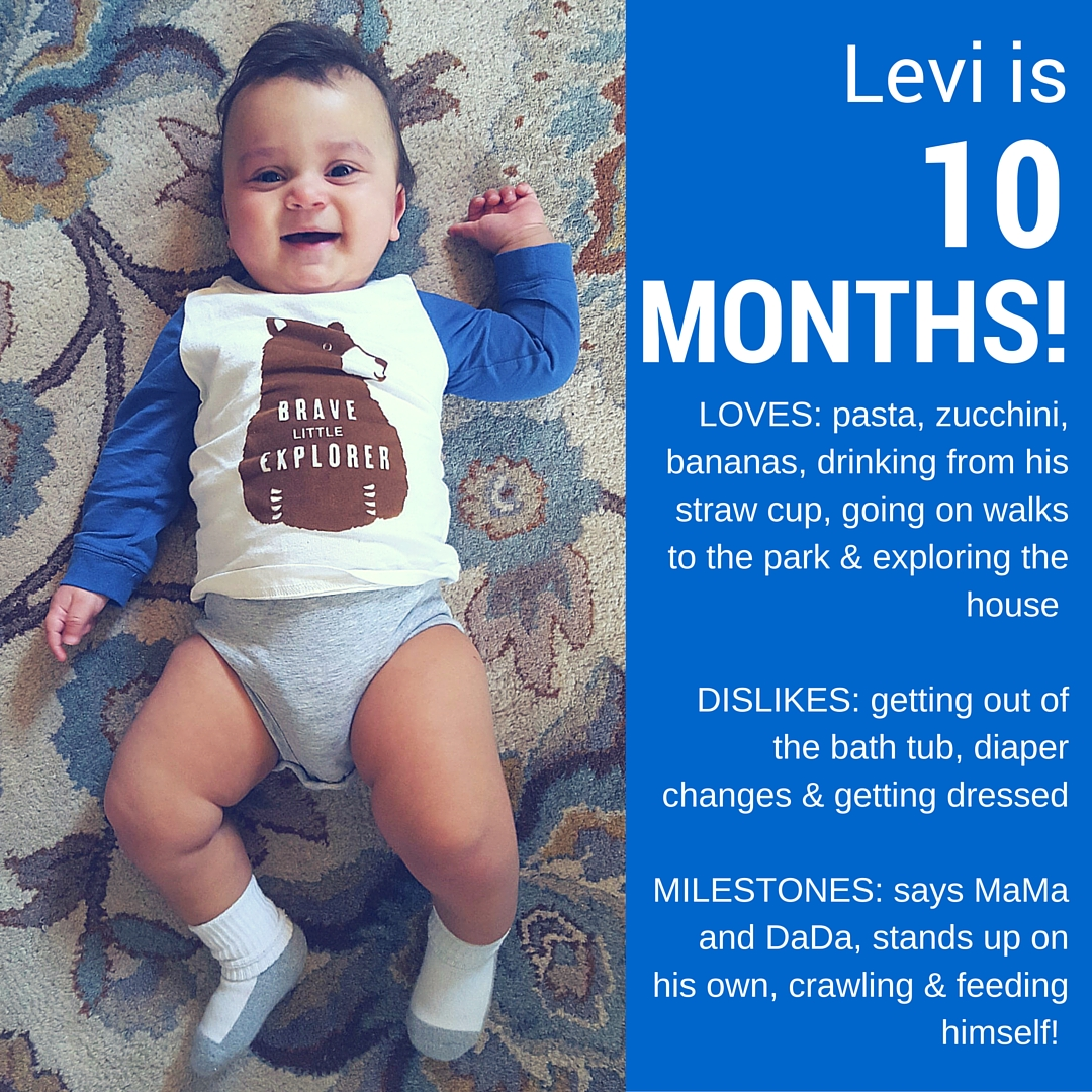 Levi is 10 Months!