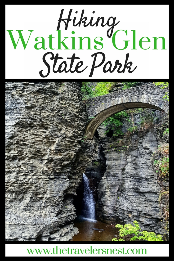 Hiking Watkins Glen State Park