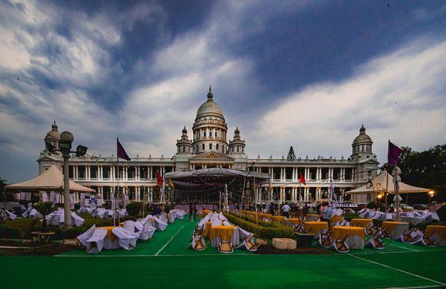 Royal Destination Wedding in india- lalitha mahal