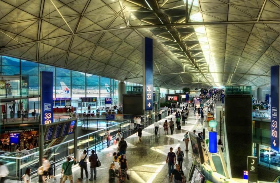 Connecting in Hong Kong - HK International Airport