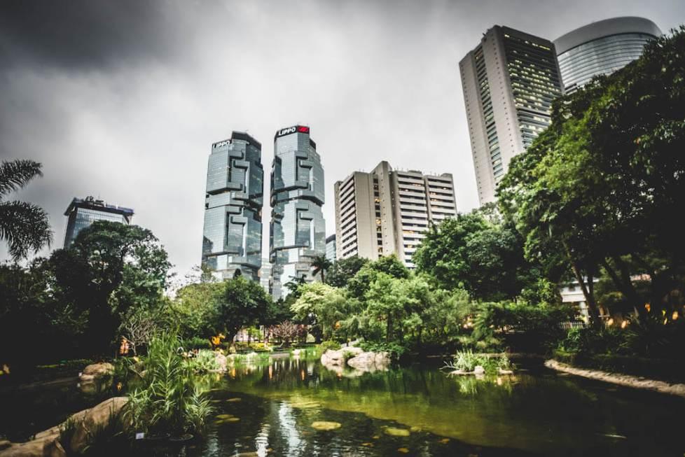 One among Hong Kong's public park