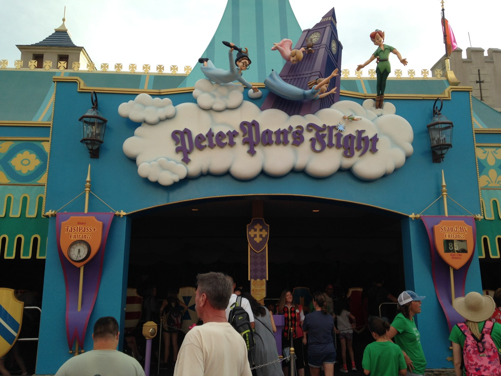 Peter Pan's Flight at Magic Kingdom