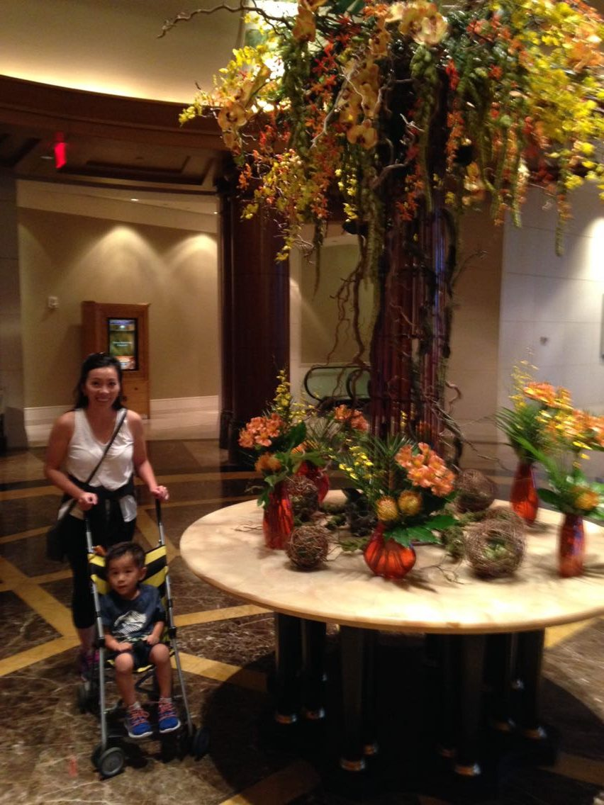 Staying with a Toddler at the Mandarin Oriental Washington DC - Good Idea or Not?