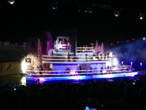 The final scene of Fantasmic, the Hollywood Studios nighttime show