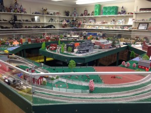 My favorite attraction, the Miniature Train Museum