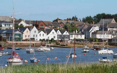 Utterly lovely Topsham – and its Scarlett O'Hara connection