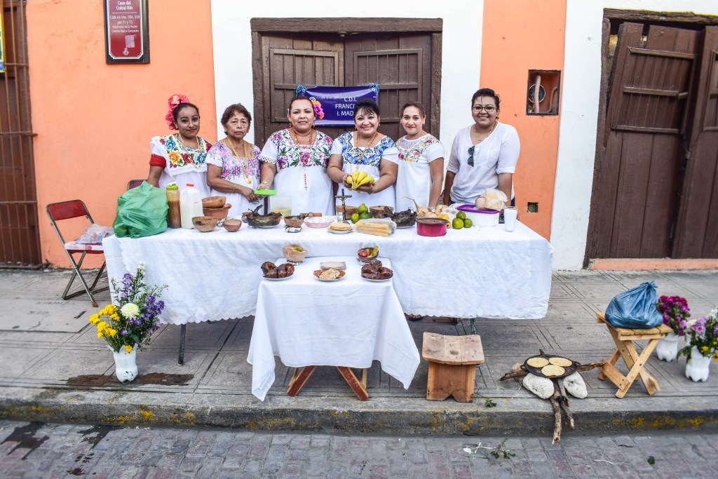 The Day of the Dead altar in Merida, Mexico