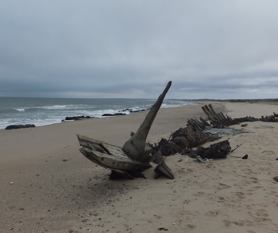 A shipwreck on the Skeleton Coast, Namibia - Photo Credit: Ian Cochrane/Flickr