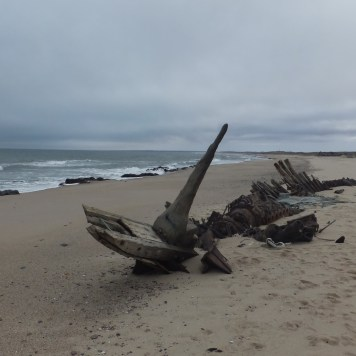 A shipwreck on the Skeleton Coast, Namibia - Photo Credit: Ian Cochrane/Flickr