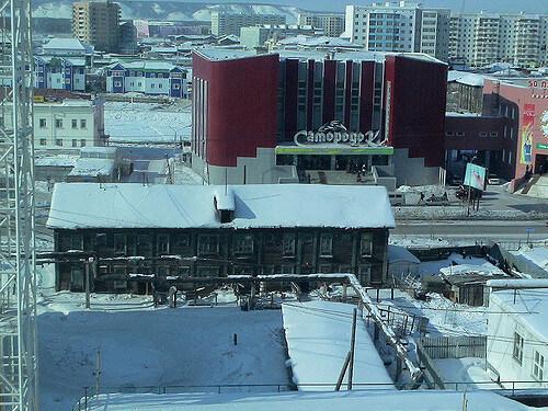 Yakutsk Desde Hotel. Photo Credit: Natxo Rodriguez/Flickr