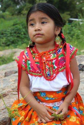 Girl in Oaxaca, Mexico