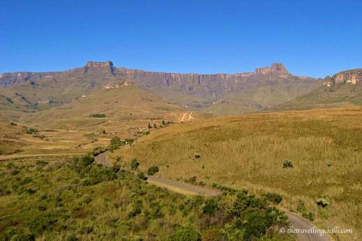 South Africa Drakensberg mountains