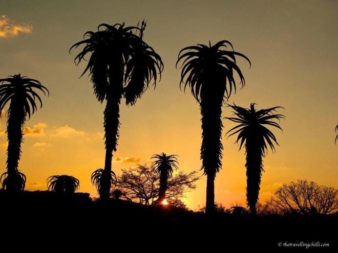 sunset zimbabwe masvingo ruins