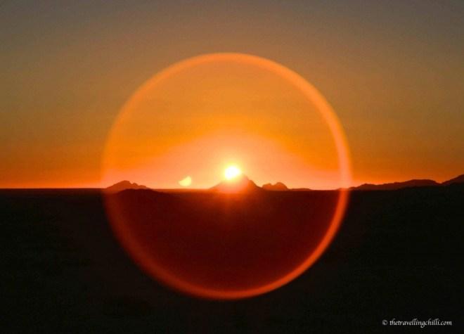 sunset namibia spitzkoppe