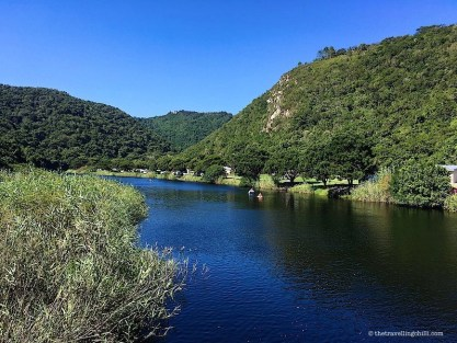 Touw river ebb flow Wilderness Garden Route, South Africa