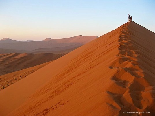 sunrise dune45 namibia sossusvlei | things to do in namibia | visit namibia