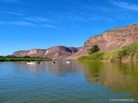 Orange River Canoeing Gariep Namibia