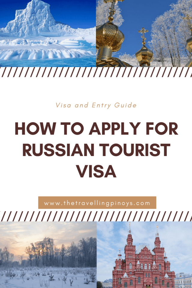 Russian Tourist Visa For Filipinos