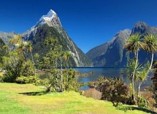 new zealand tourist visa mitre peak