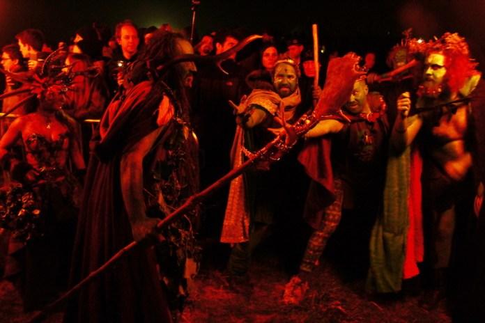 The Beltane Fire Festival